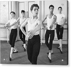 Ballet For Boys Acrylic Print