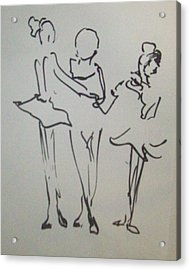 Ballet In The Park Acrylic Print by James Christiansen