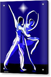 Ballet Acrylic Print by Stephen Younts