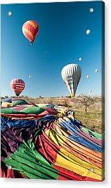 Ballons - 5 Acrylic Print by Okan YILMAZ