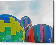 Balloon Cluster Acrylic Print by Carolyn Meuer-Pickering of Photopicks Photography and Art