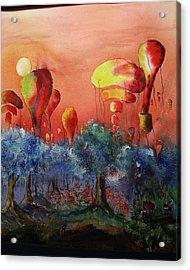 Balloon Fantasy Acrylic Print by David Ignaszewski