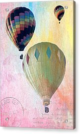 Balloon Flight Acrylic Print