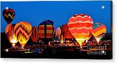 Balloon Glow Acrylic Print
