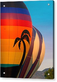 Balloon Launch Acrylic Print by Carol Norman