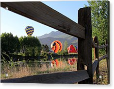 Balloon Launch-ridgway 2012 Acrylic Print
