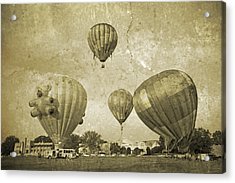 Balloon Rally Acrylic Print by Betsy Knapp