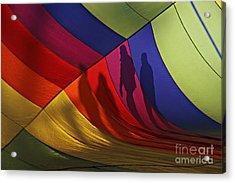 Balloon Shadows Acrylic Print