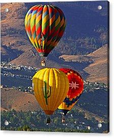 Balloons Over Reno Acrylic Print