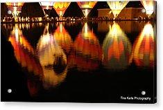 Baloominaria Reflections Acrylic Print by Tina Karle