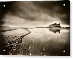 Bamburgh Castle Acrylic Print by Simon Marsden