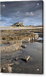 Bamburgh, Northumberland, England Acrylic Print by John Short
