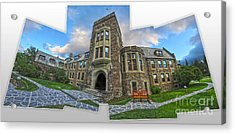 Banff -  Canada Place And Cascade Gallery Acrylic Print by Gregory Dyer