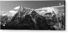 Banff Mountain Range Acrylic Print by Keith Kapple