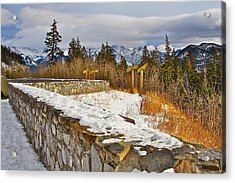 Banff Scene Acrylic Print