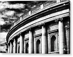 Bank Of Ireland Acrylic Print by John Rizzuto
