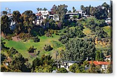 Bankers Hill San Diego Acrylic Print by Russ Harris
