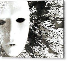 Banter Acrylic Print by Christian Allen