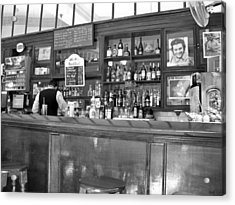 Acrylic Print featuring the photograph Bar In Old Havana by Lynn Bolt