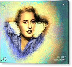 Barbara Stanwick Acrylic Print