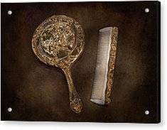 Barber - I'm So Pretty Acrylic Print by Mike Savad