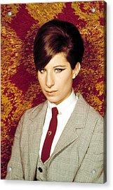 Barbra Streisand, 1960s Acrylic Print by Everett
