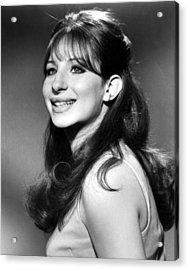 Barbra Streisand, Early 1960s Acrylic Print by Everett