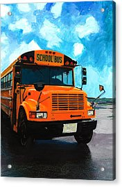 Barb's Bus Acrylic Print
