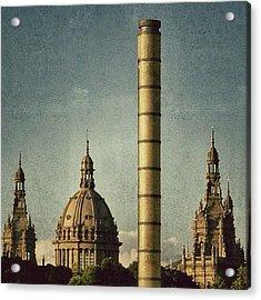 Barcelona - Montjuïc Acrylic Print