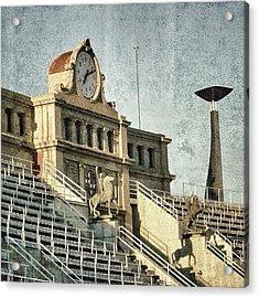 Barcelona - Olympic Stadium Acrylic Print