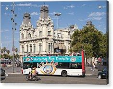 Barcelona Acrylic Print by Matthias Hauser