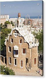 Barcelona Parc Guell Acrylic Print by Matthias Hauser