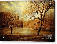 Bare Beauty In Central Park Acrylic Print