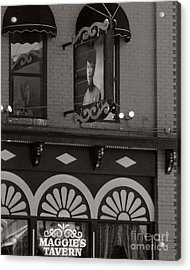 Acrylic Print featuring the photograph Barhopping At Maggies 1 by Lee Craig