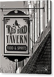Acrylic Print featuring the photograph Barhopping At The Red Bird 1 by Lee Craig