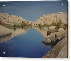Barker Dam Acrylic Print