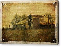Barn 3 Acrylic Print by Toni Hopper