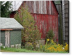 Barn Buildings Acrylic Print