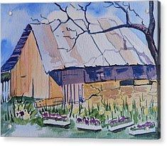Barn Near Payson Acrylic Print