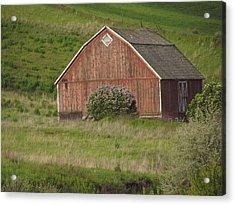 Barns Of The Palouse 6 Acrylic Print by Tony and Kristi Middleton