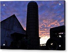 Barnyard Sunrise IIi Acrylic Print