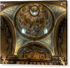 Baroque Church In Savoire France 5 Acrylic Print