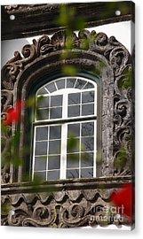 Baroque Style Window Acrylic Print by Gaspar Avila