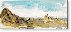 Barren Landscape Acrylic Print