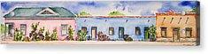 Barrio Viejo Acrylic Print by Regina Ammerman