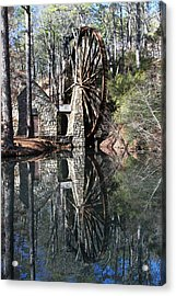 Barry College Mill Acrylic Print by Rick Mann
