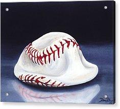 Baseball '04 Acrylic Print by Redlime Art