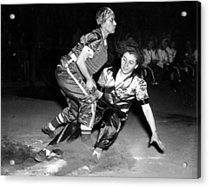 Baseball, Mary Farmer Of The Chicago Acrylic Print by Everett