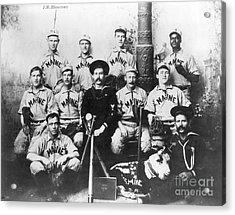 Baseball Team, C1898 Acrylic Print by Granger