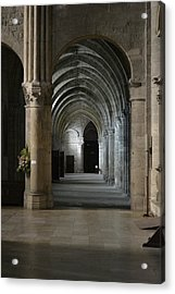 Basilica In Reims Acrylic Print by Dickon Thompson